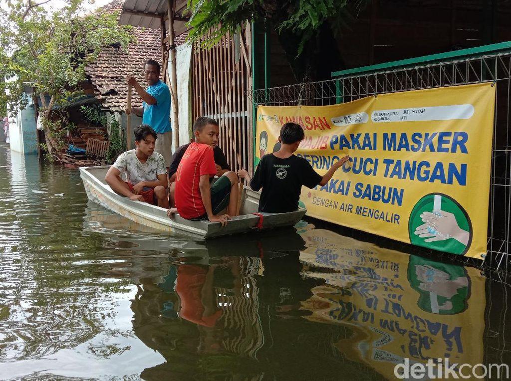Catat! Ini yang Mesti Dilakukan Biar Tak Kesetrum Saat Banjir