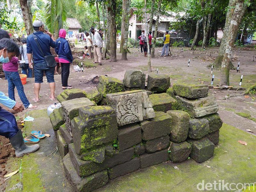 BPCB Jateng Temukan Komponan Batu Candi di Situs Kolokendang
