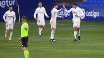 Susah Payah Real Madrid Kalahkan Huesca