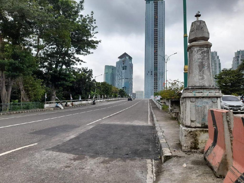 Pemprov DKI Ungkap Penyebab Jalan di Flyover Kuningan Sempat Amblas