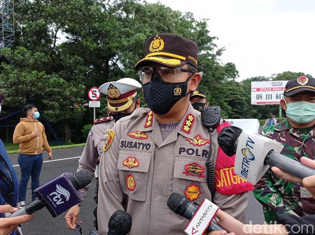 Gage di Bogor Berlaku 24 Jam, Polisi Akan Awasi Secara Statis dan Dinamis