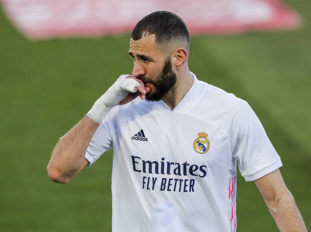Karim Benzema Bisa Main di Liga Champions Nggak, Zidane?