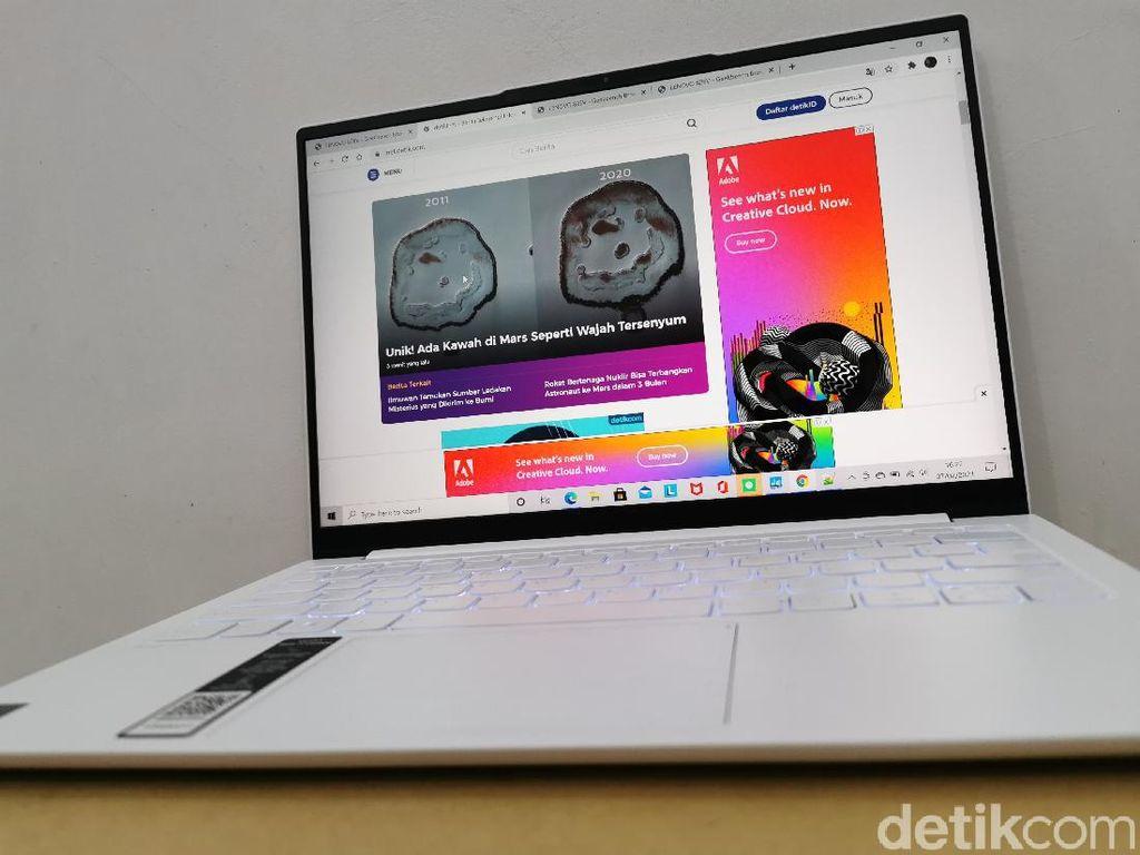 Review Laptop Yoga Slim 7i Carbon: Minimalis yang Ngebut