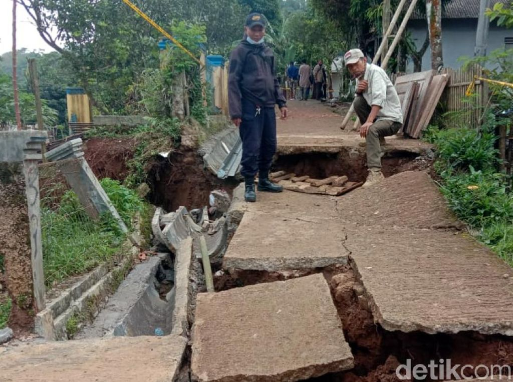 Analisis PVMBG soal Pergerakan Tanah di Sukabumi