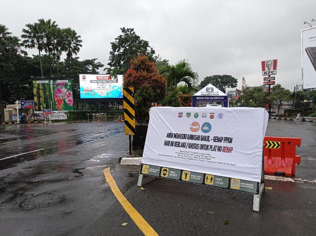 Ingat! Kendaraan Bernopol Genap yang Boleh di Kota Bogor Hari Ini