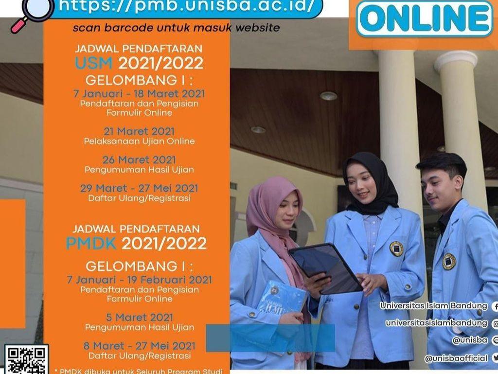 Unisba Buka Kuota 2.800 Mahasiswa Baru, Ada Jalur Hafidz Quran