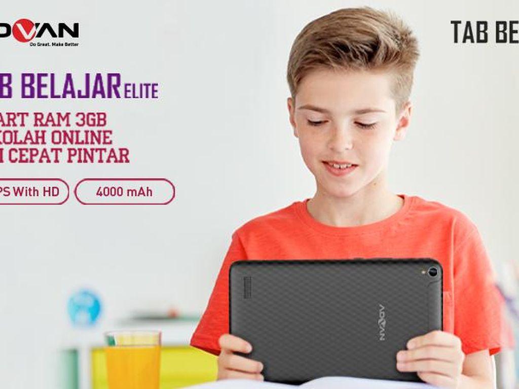 ADVAN Luncurkan Tablet Khusus Sekolah Online, Ini Spesifikasinya