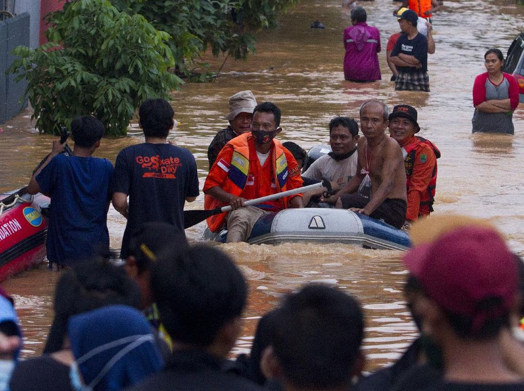 Titik-titik Banjir di DKI Jakarta Pagi Ini