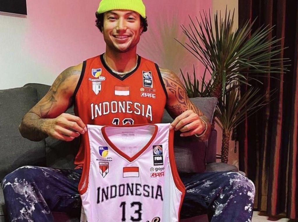 Brandon Jawato Lelang Jersey Indonesia Patriots, Laku Rp 10 Juta Lebih
