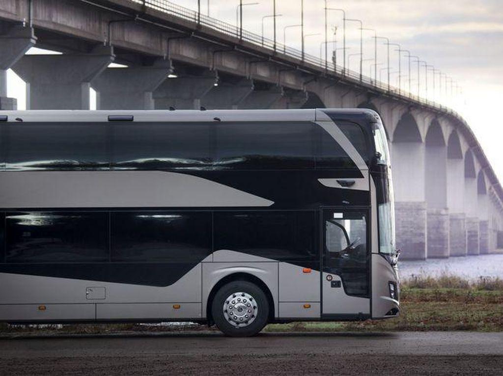 Lihat Lebih Dekat Bus Tingkat Terbaru Volvo