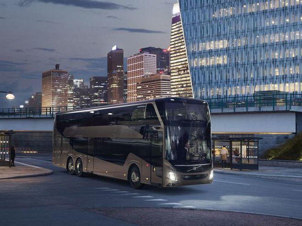 Volvo Rilis Bus Tingkat Baru, Tingginya Tembus 4,2 Meter
