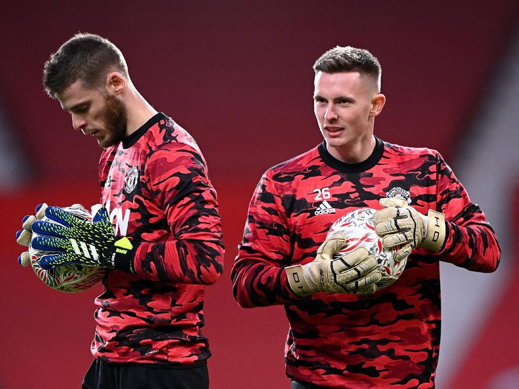 David De Gea Vs Dean Henderson Tinggal Kuat-kuatan Mental