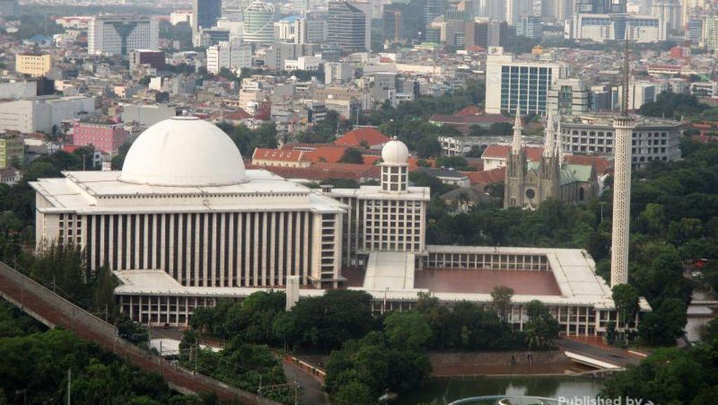 Megahnya Masjid Istiqlal