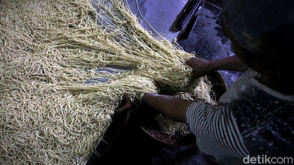Geliat Produksi Mi Basah yang Legendaris di Yogyakarta