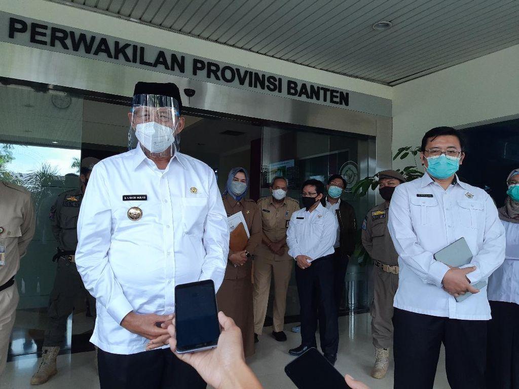Respons Gubernur Wahidin soal Eks Sekda Banten Jadi Staf BKD