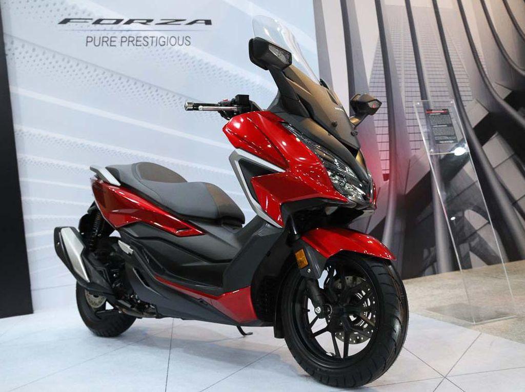 Setelah PCX 160, Honda Segarkan Forza 250, Ini Tampilan Barunya