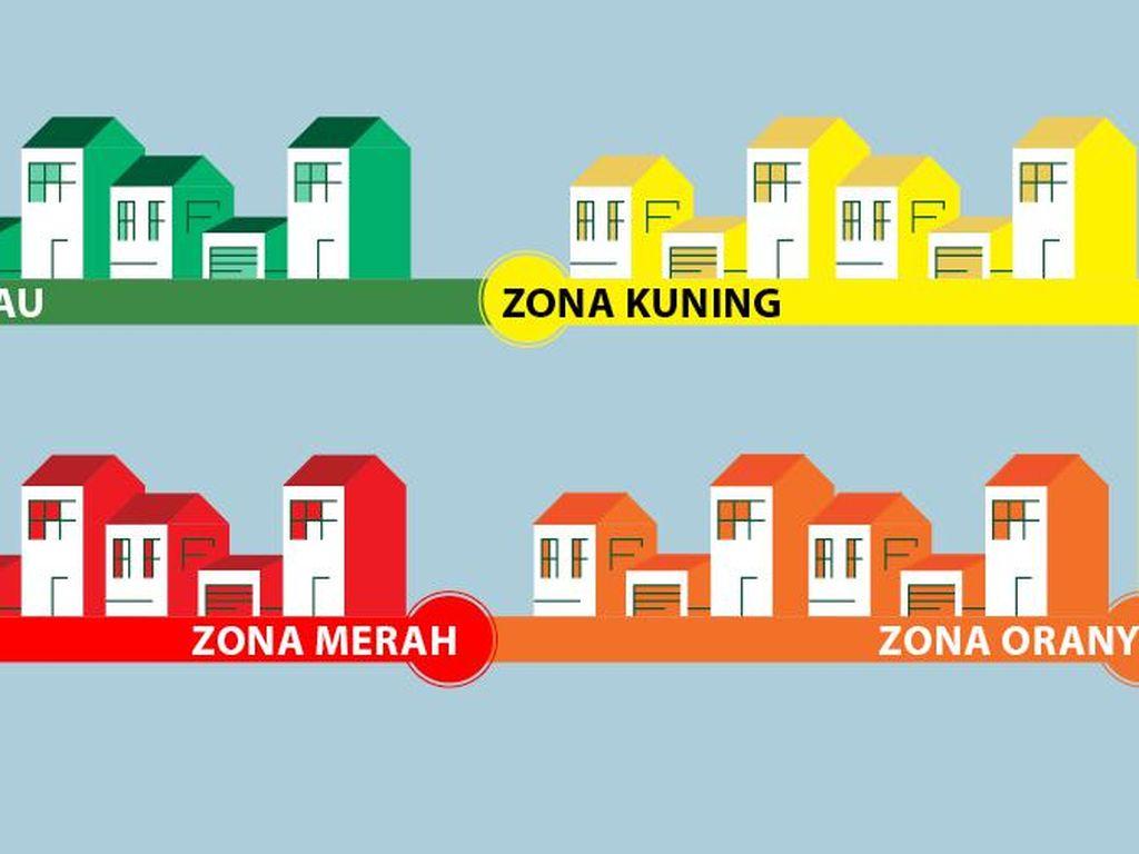 Zona Merah Alami Kenaikan dari 7 Jadi 10 Kab/Kota dalam Sepekan