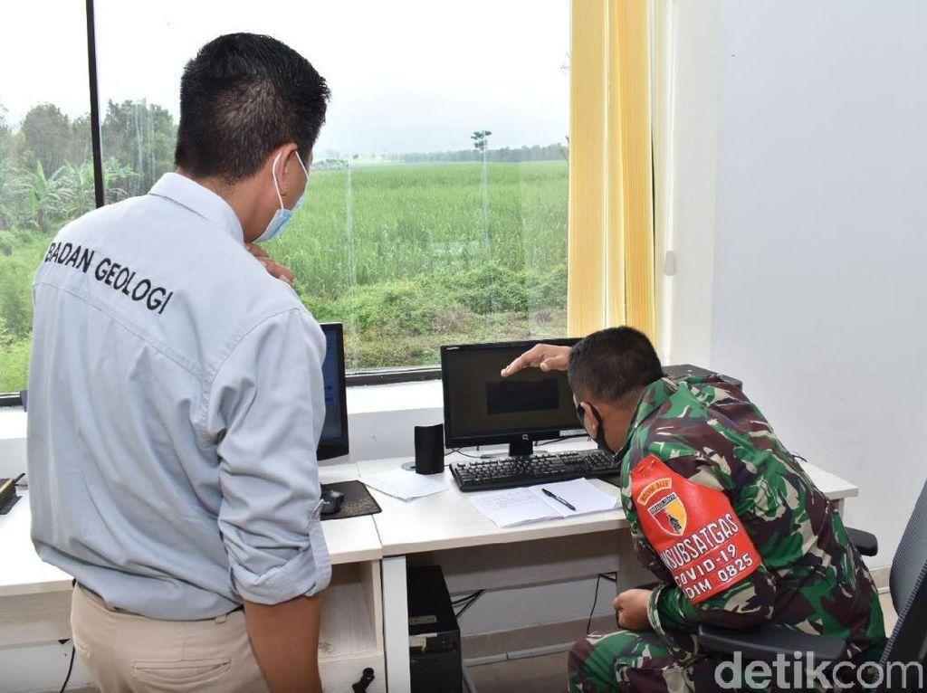 Kodim 0825 Banyuwangi Siapkan Pasukan Antisipasi Erupsi Gunung Raung