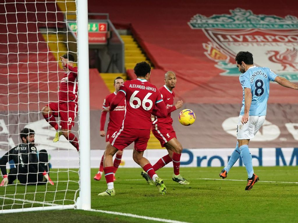 Liverpool Vs Man City: The Citizens Habisi Si Merah 4-1