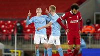 10 Fakta Usai Duel Liverpool Vs Man City
