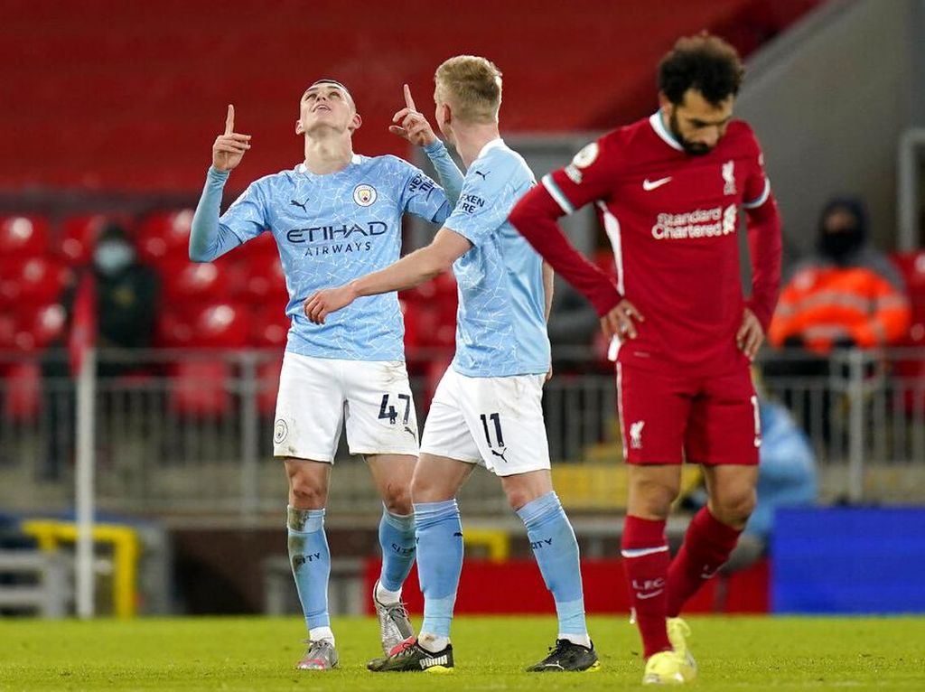 10 Fakta Usai Duel Liverpool Vs Man City