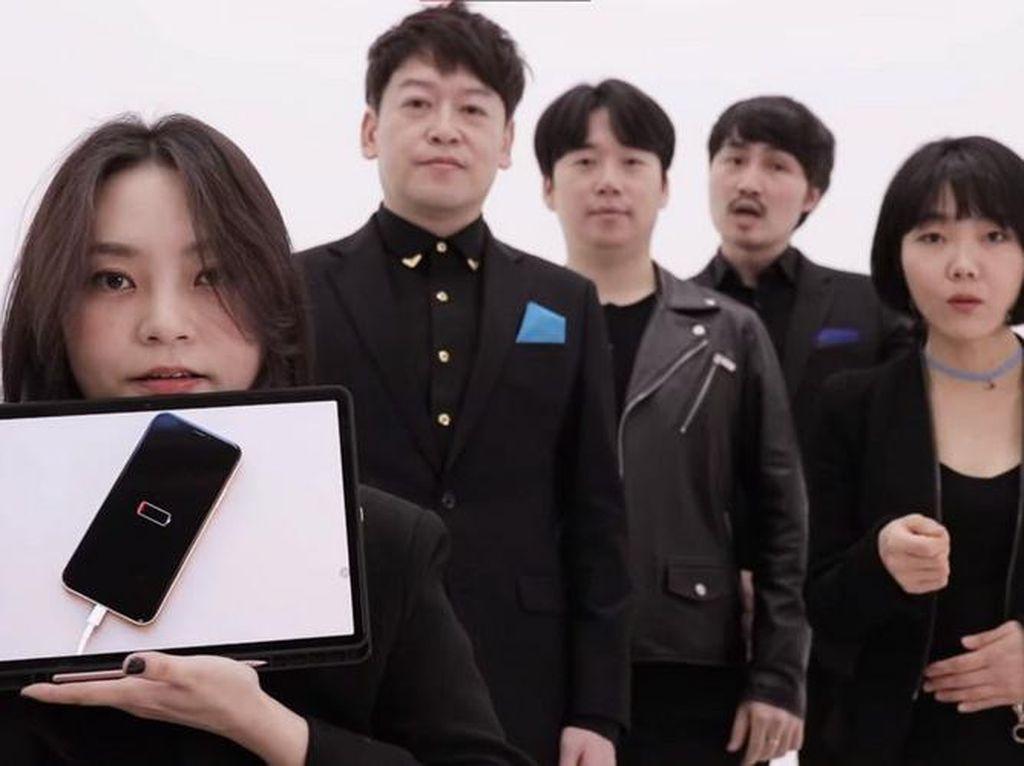 Mantul! Grup Akapela Ini Bikin Cover Ringtone dan Efek Suara iPhone