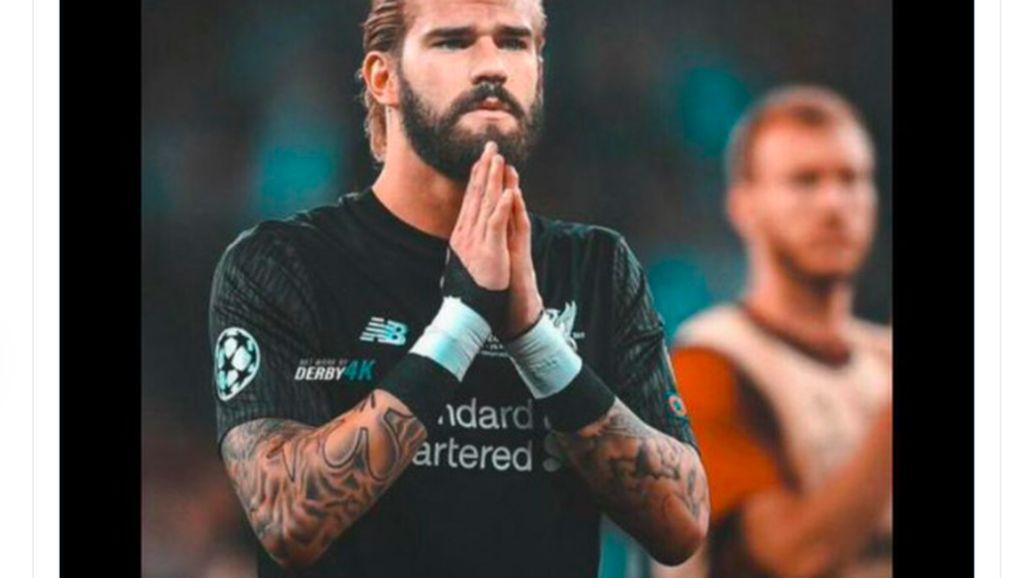 Liverpool Kalah, Netizen Sindir Alisson dan Salah
