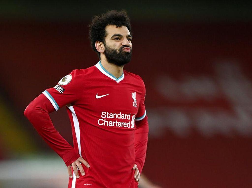 PSG Bidik Mohamed Salah sebagai Pengganti Mbappe