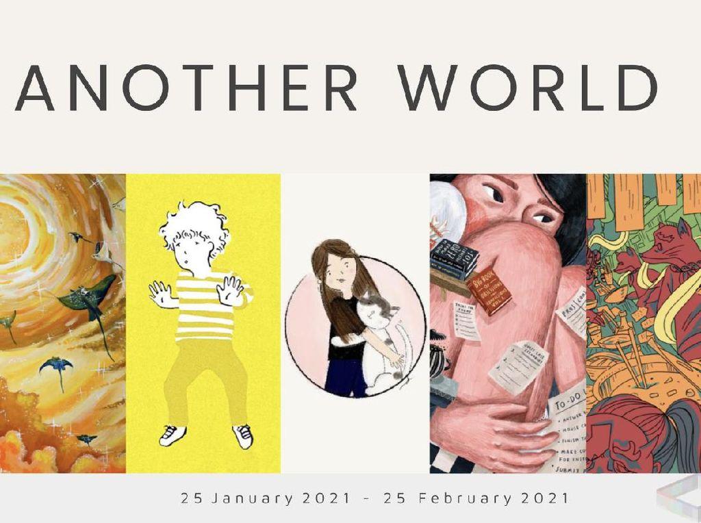5 Seniman Muda Indonesia Unjuk Gigi di Pameran Virtual