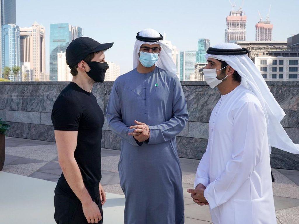 Pendiri Telegram Datangi Pangeran Dubai, Ada Apa?