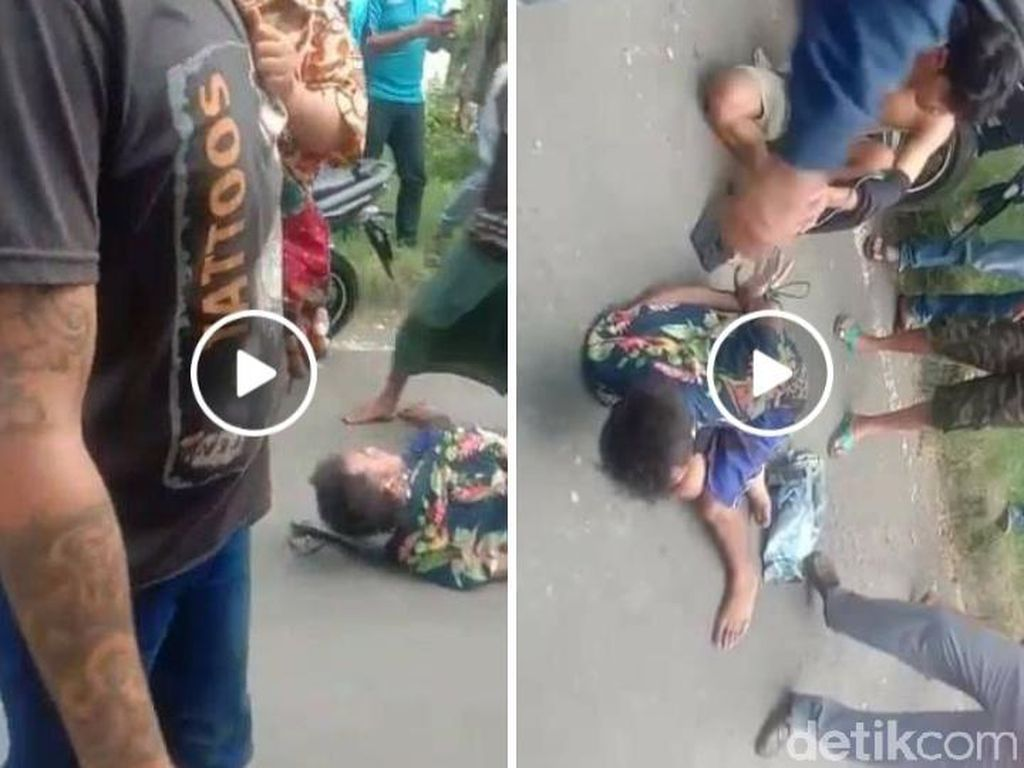 2 Jambret di Surabaya yang Viral Diikat dan Dimassa Ternyata Bapak dan Anak Kos