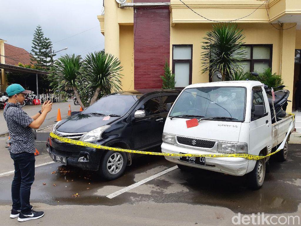 Komplotan Penjahat Ini Curi 2 Mobil Pikap di Serang dalam Sebulan