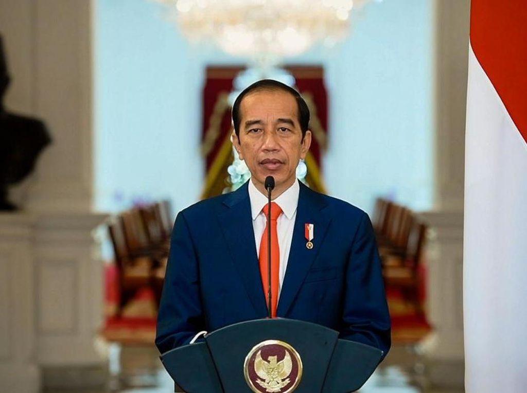 Jokowi Pidato di Pelantikan MKGR, Bicara Pembangunan Indonesia-sentris