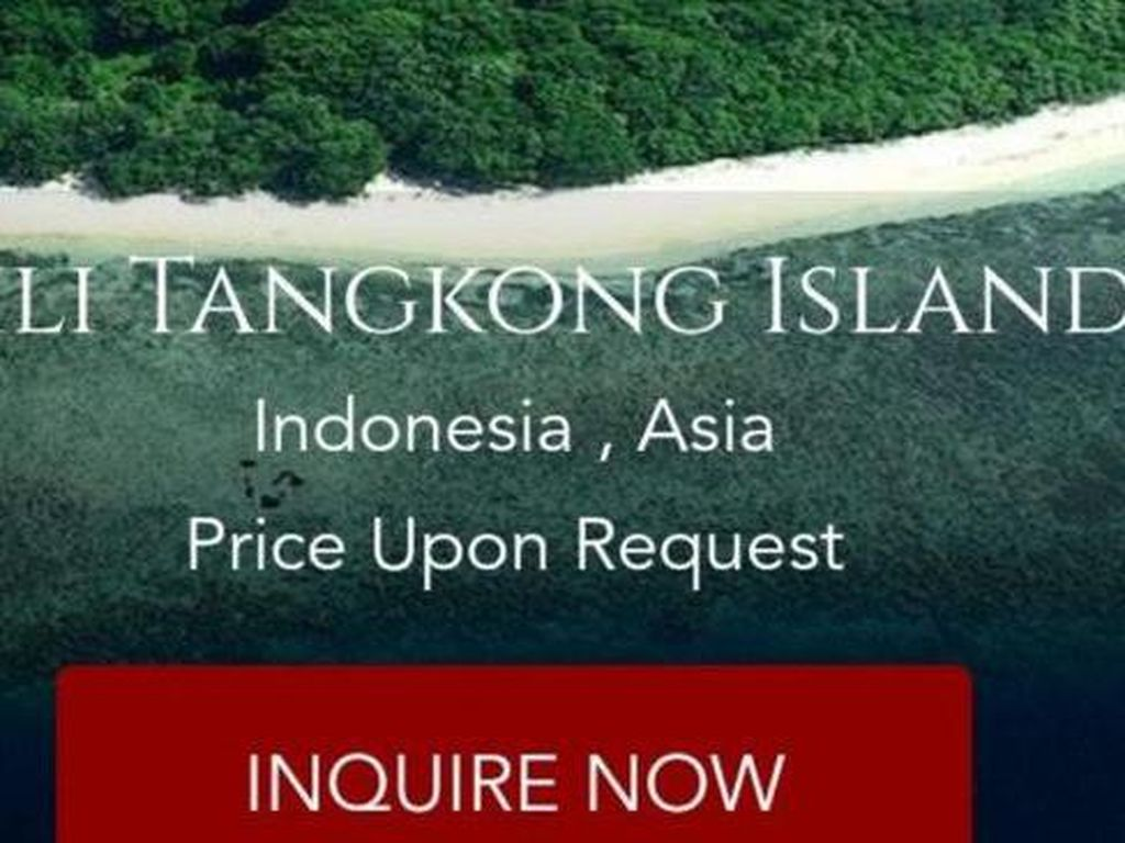 Selain Gili Tangkong, Situs Ini Juga Jual 7 Pulau Lain di Indonesia