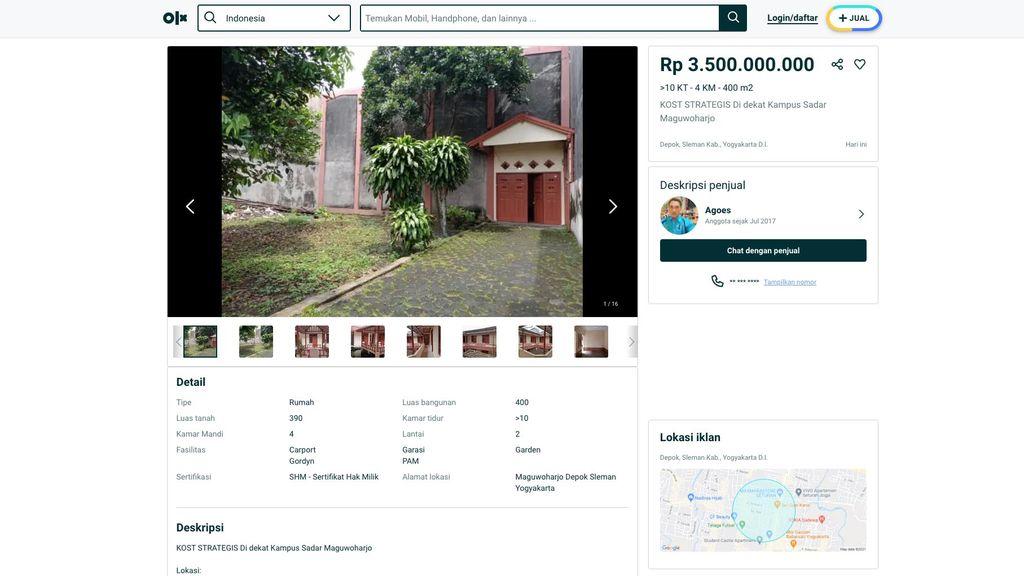 Properti Dijual di Yogyakarta