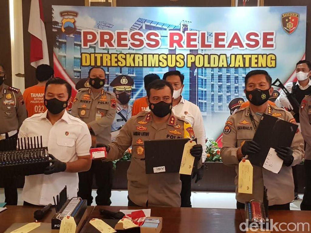 3 Pelaku Pencurian Pulsa dan Voucher Game Dibekuk di Semarang