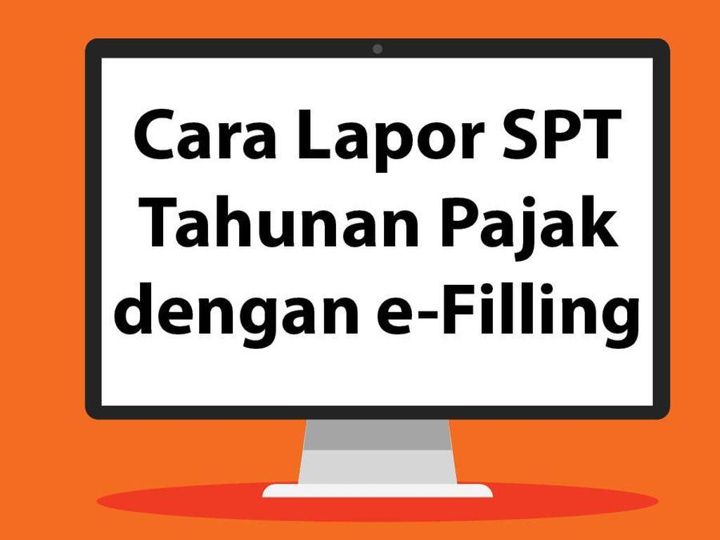 Tutorial Lapor SPT Tahunan Pajak dengan e-Filling