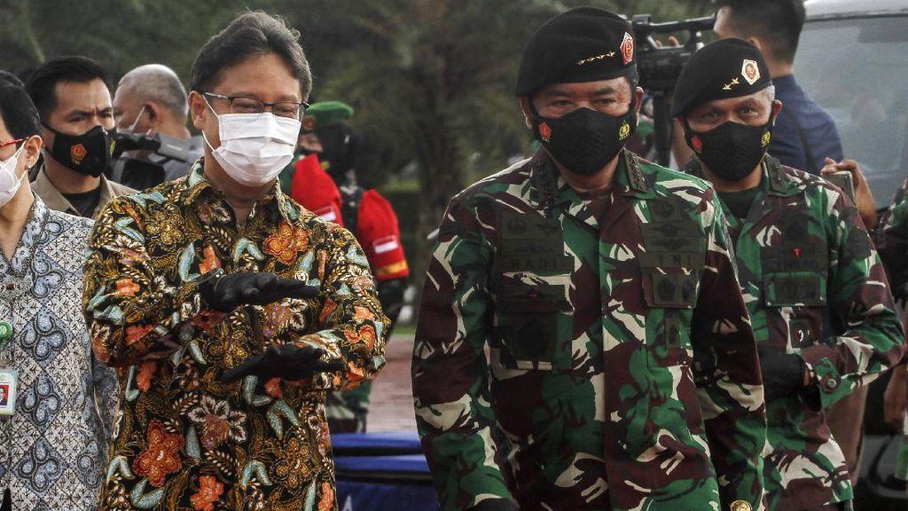Panglima TNI Pimpin Apel Kesiapan Tenaga Vaksinator COVID-19