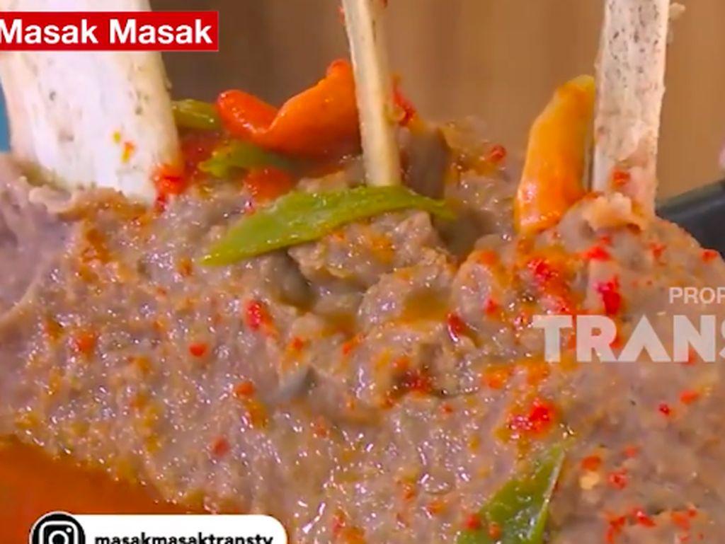 Masak Masak : Bakso Iga Sapi Kuah Cabe yang Super Pedas