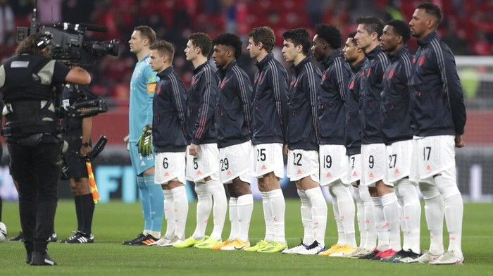 Bayern Munich melenggang ke final Piala Dunia Antarklub 2020. Die Roten lolos setelah mengalahkan Al Ahly dengan skor 2-0.