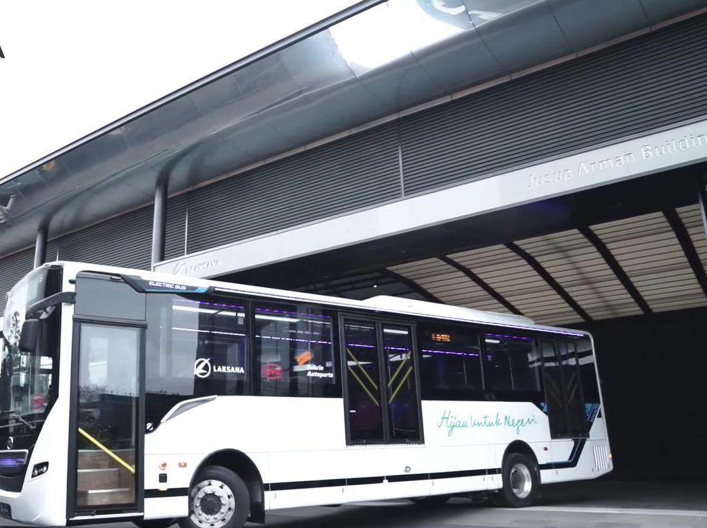 Bus Listrik Laksana-BYD Sudah Bisa Dipesan, Harga Mulai Rp 4,5 Miliar