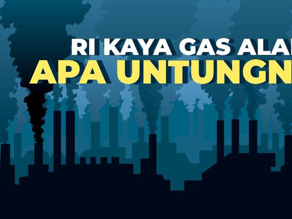 RI Kaya Gas Alam, Apa Untungnya?
