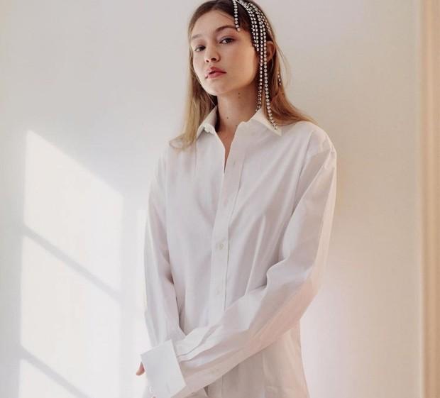 Gigi Hadid mengkombinasikan produk skincare/instagram.com/gigihadid