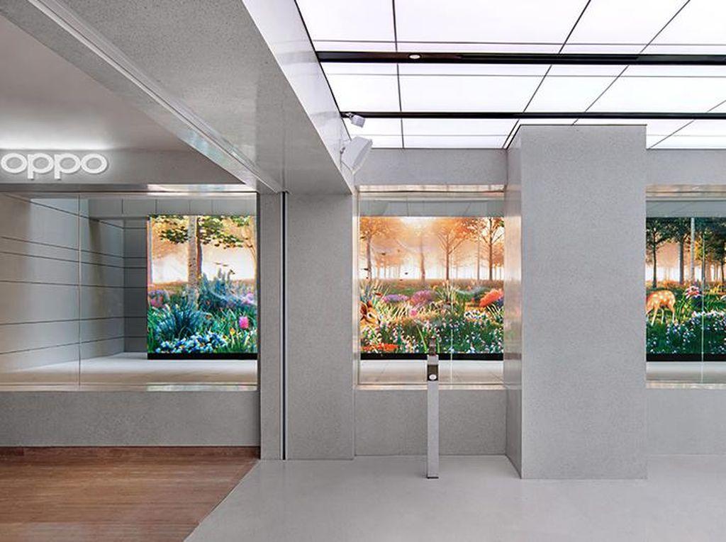 OPPO Gallery Suguhkan Interaksi Nyata Manusia dan Teknologi