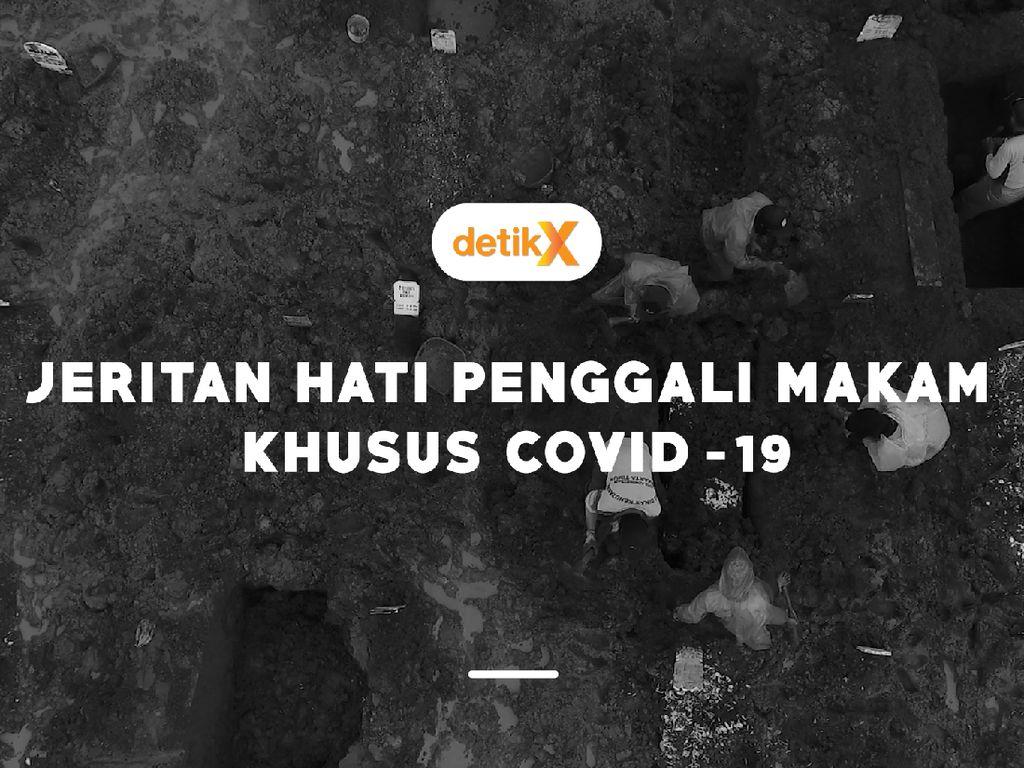 Jeritan Hati Penggali Kubur Jenazah Covid-19