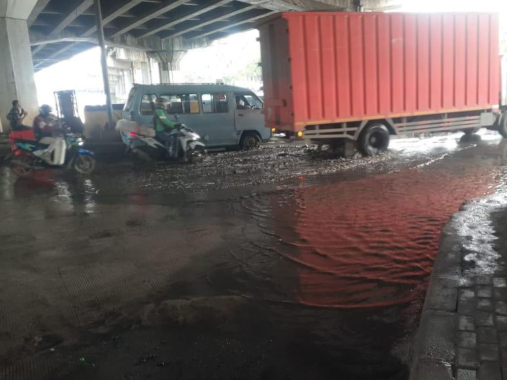 Atasi Banjir, Perbaikan Jl RE Martadinata Ancol Dikerjakan Tengah Tahun