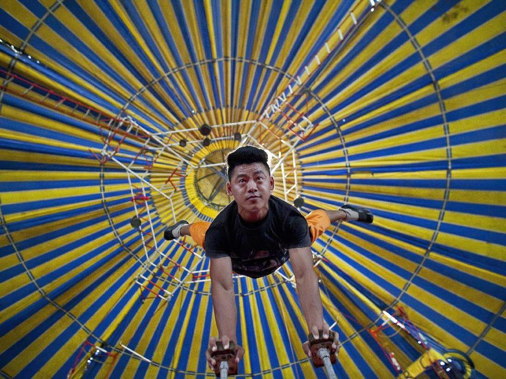 Melihat Atraksi Sirkus Tertua di India