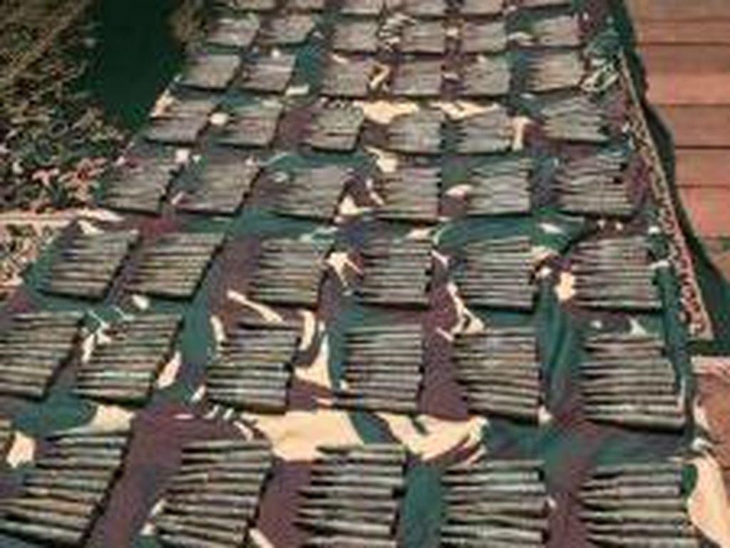 TNI Amankan 1.201 Amunisi Pasukan Gurkha dan Inggris di Kaltara