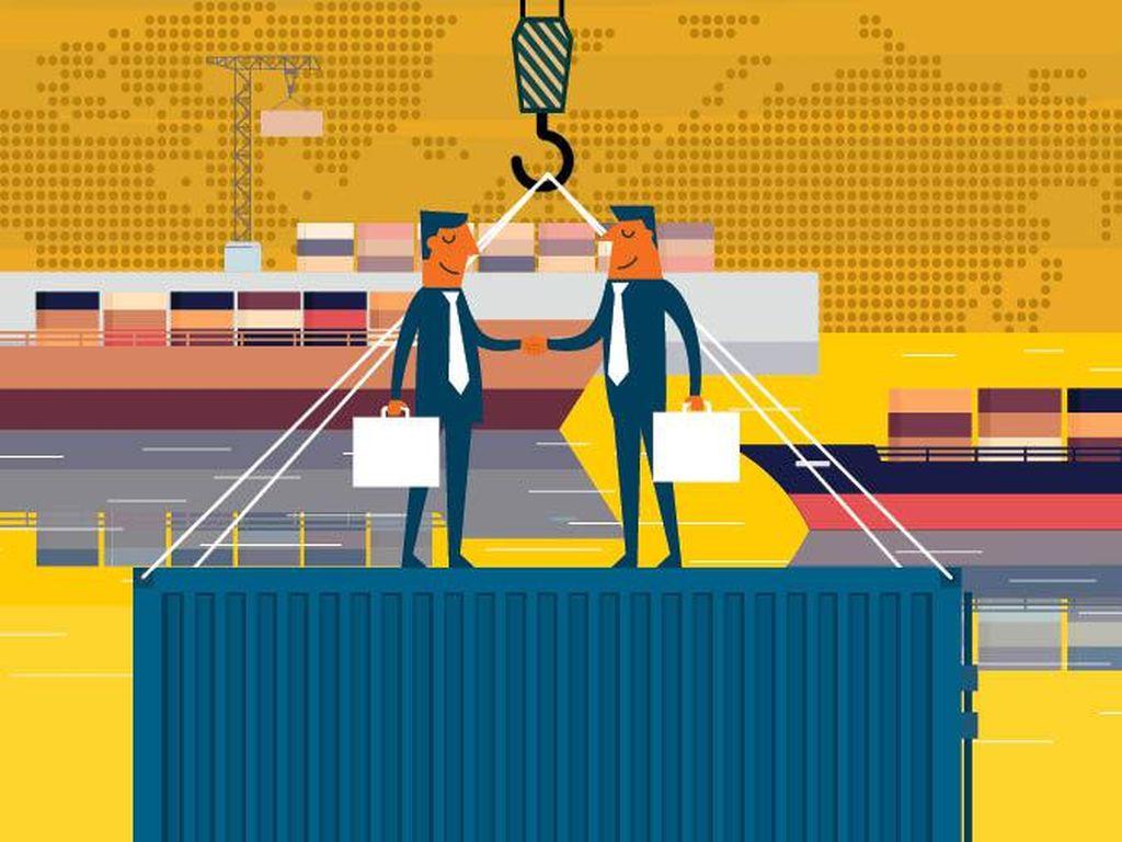 Untung Rugi Perdagangan Internasional buat RI