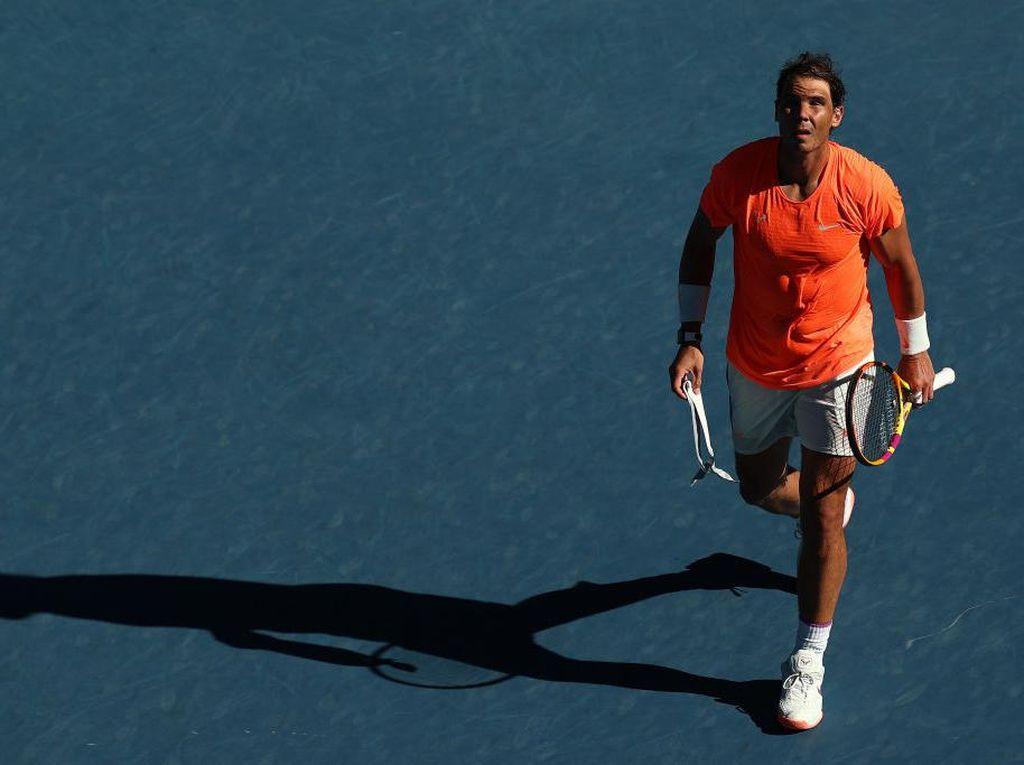 Australia Terbuka 2021: Rafael Nadal Juga Lolos ke Babak Kedua